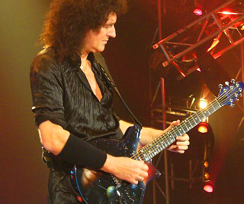 Brian May - BMG Face Guitar- Berlin 2008