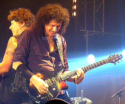 Brian May - BMG Face Guitar - Moscow 2008