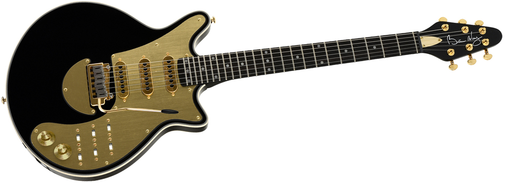 Brian May Guitars Special - Black 'N' Gold