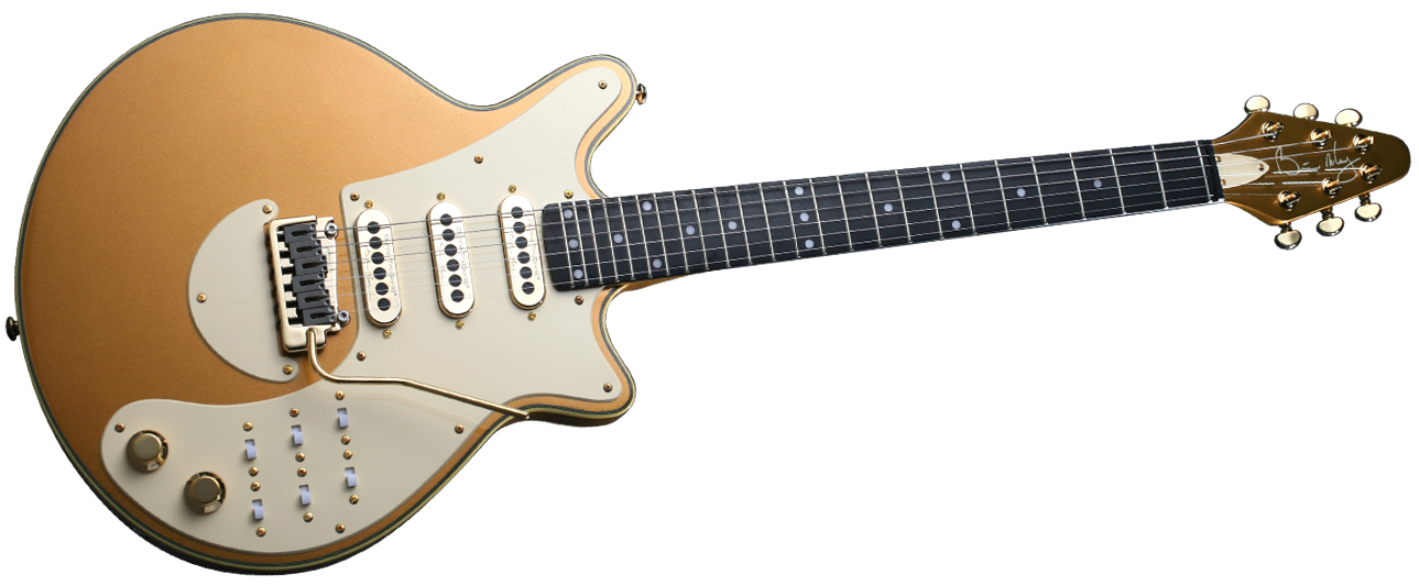 Brian May Guitars Special LE - Jubilee Gold