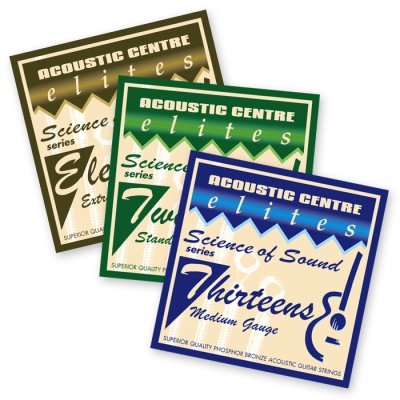 Elites ''Science Of Sound'' Acoustic Guitar Strings