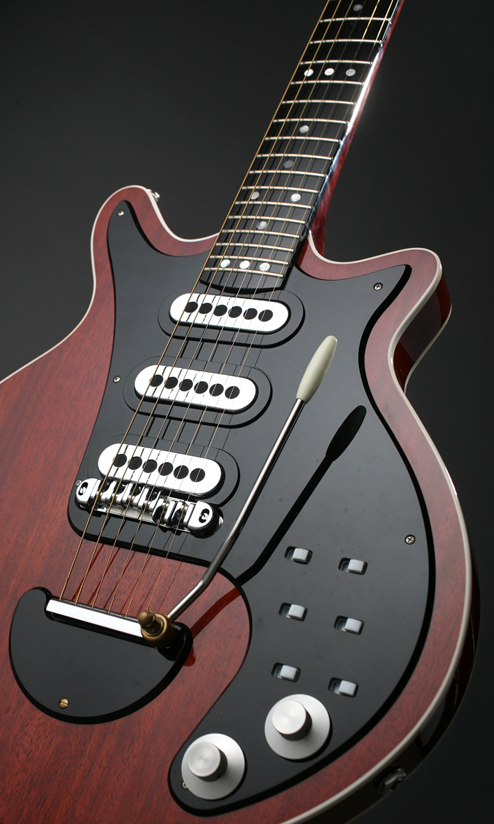 The Bmg Super Antique Cherry Brian May Guitar Wiring