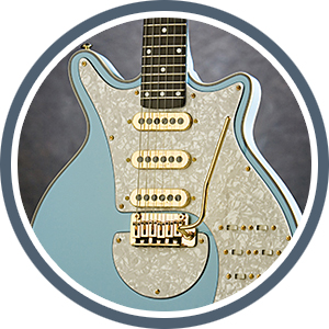 Brian May Guitars Special - Baby Blue