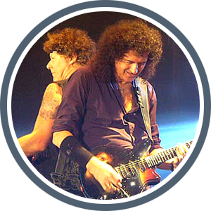Brian May & Jamie Moses In Moscow