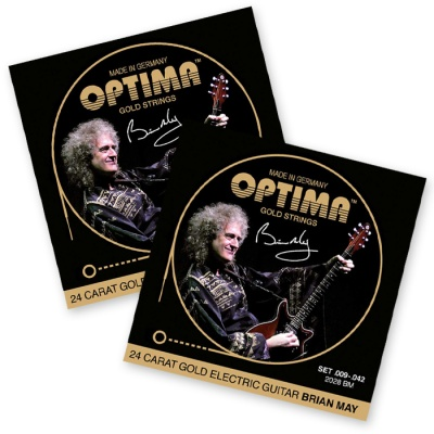 Optima 24K Gold BM Signature Strings
